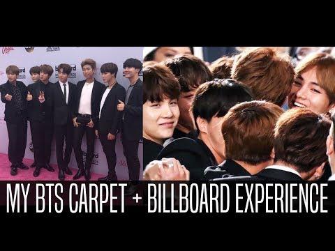 MY BTS CARPET + BILLBOARD EXPERIENCE FANCAM/VLOG REACTION 2017