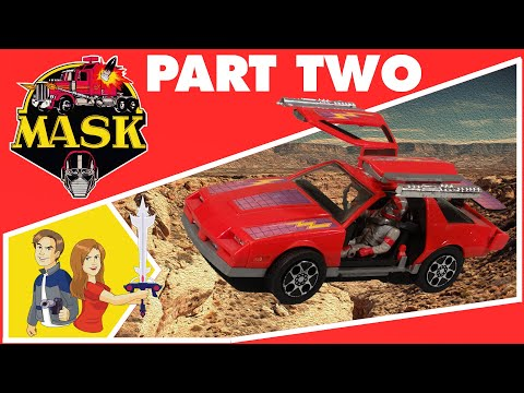 M.A.S.K. - Vintage Toy Review Kenner 1985 - Part 2/2