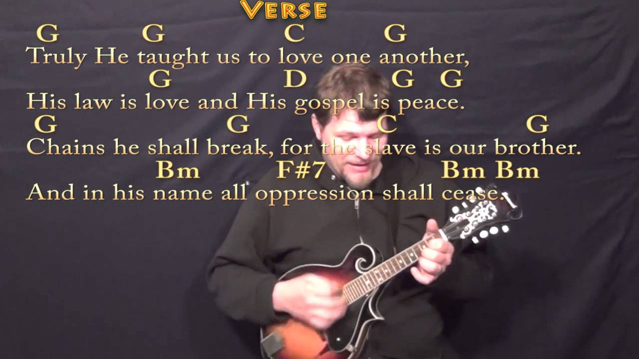 O Holy Night (CHRISTMAS) Mandolin Cover Lesson in G with Chords/Lyrics - YouTube