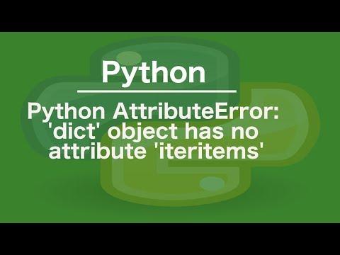 python AttributeError: &#