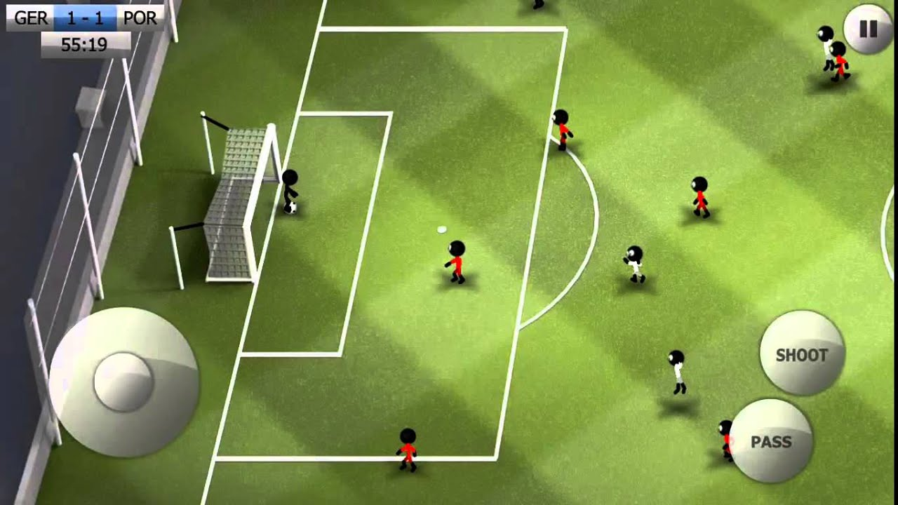 Stickman Soccer 2014 Android Games Apk  #Smartphone #Android