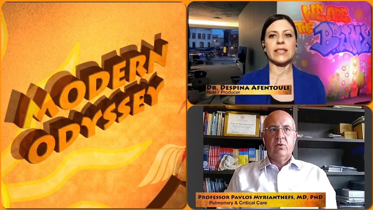MODERN ODYSSEY on the COVID 19 Pandemic with Dr. Afentouli & Prof. Myrianthefs