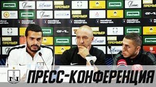 «Арсенал» - «Нефтчи»   Пресс-конференция перед матчем   Бордин и Махмудов