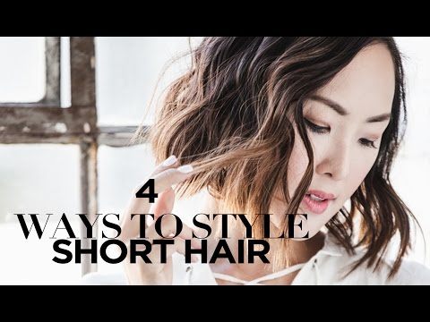 Save 4 Ways to Style Short Hair Images