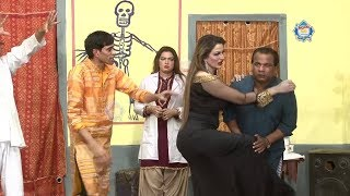 Tahir Anjum With Saima Khan and Goshi 2 New Stage Drama Hassay Unlimited Full Comedy Clip 2019