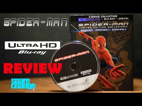 Spider-Man Limited Edition Collection 4K Bluray Review | Unboxing (Part 1)