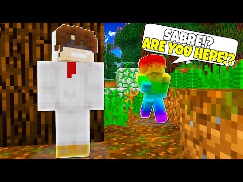 RAINBOW STEVE IS TRYING TO FIND ME!