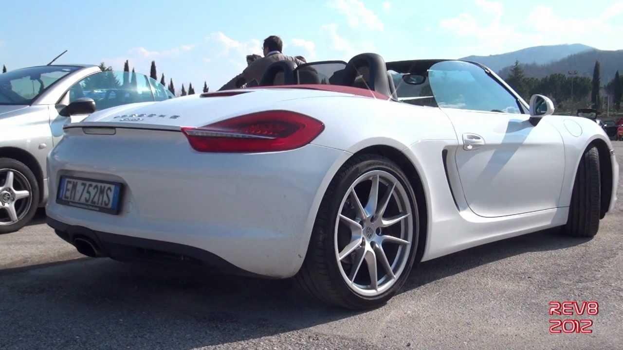 2013 Porsche Boxster Pse Exhaust Sound Start Amp Huge