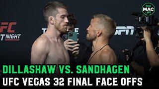 UFC Vegas 32: TJ Dillashaw and Cory Sandhagen Face-Off ahead of Dillashaw's return