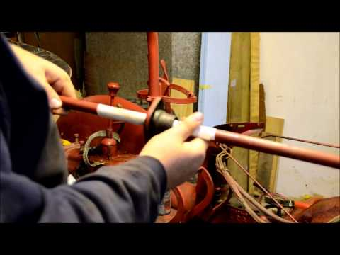 1953 Farmall Cub Steering Shaft Installation