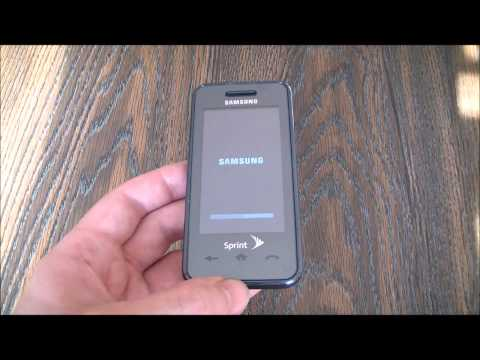 How To Restore A Samsung Instinct SPH-M800 Smartphone To Factory Settings