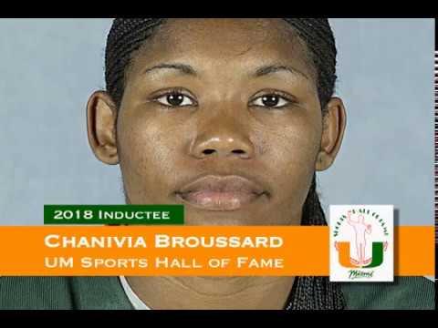 Chanivia Broussard - University of Miami Sports Hall of Fame