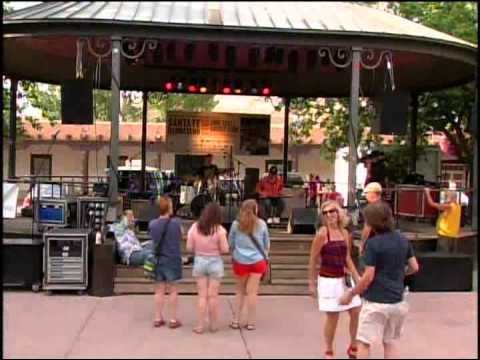 Todd and The Fox Performance at Santa Fe Bandstand 2013