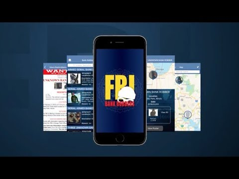 Download the FBI Bank Robbers App