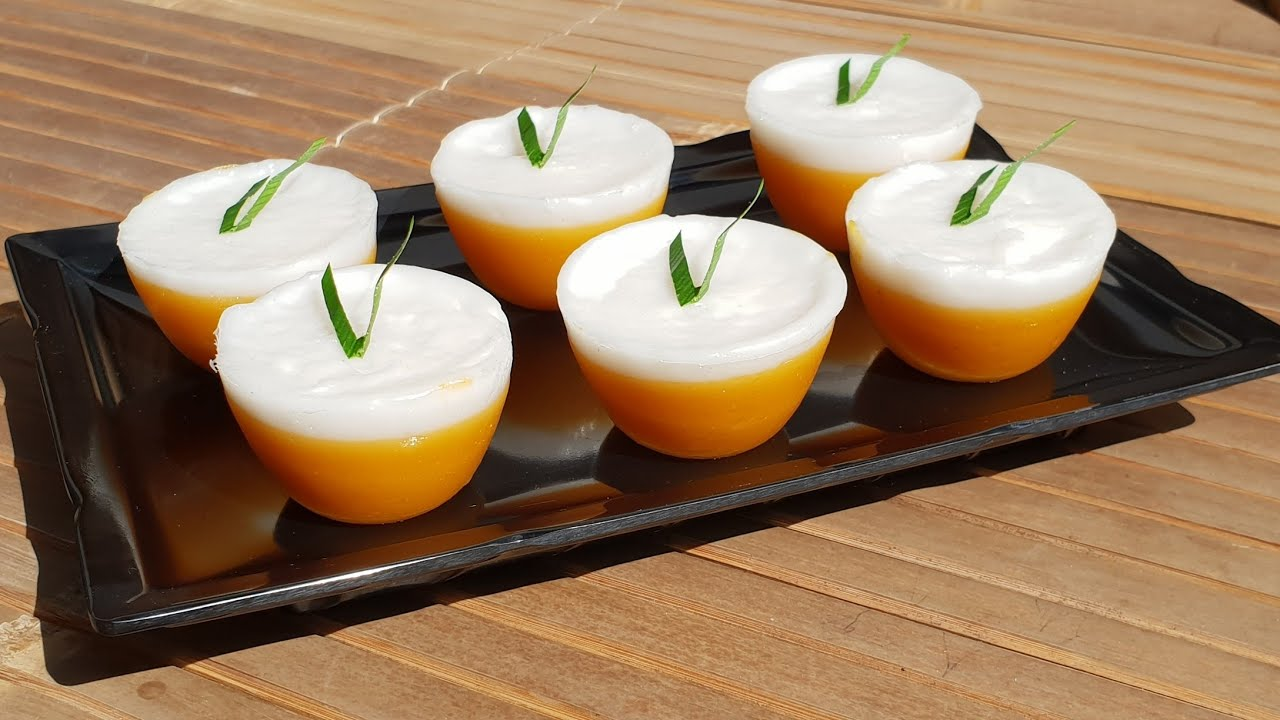Kue Talam Ubi Lembut Cara Membuat Kue Talam Ubi Lembut