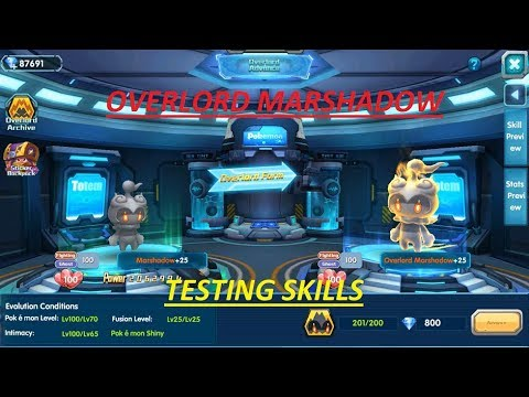 OVERLORD MARSHADOW - TESTING SKILLS