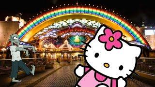 Hellish night in Hello Kitty Land