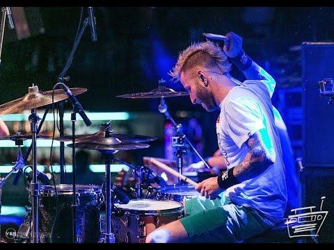 """NOIZE MC """"Жечь Электричество"""" Drum Cam"""