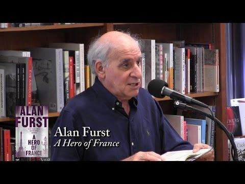 "Alan Furst, ""A Hero of France"""