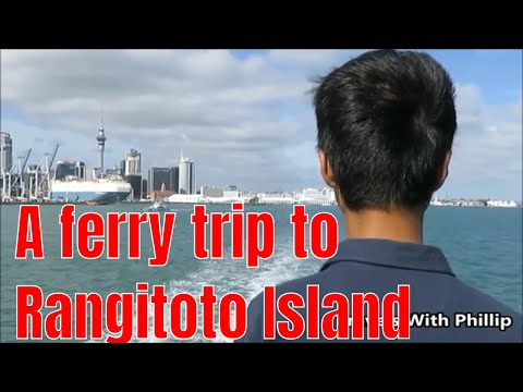 A Ferry Trip To Rangitoto Island, Auckland, New Zealand