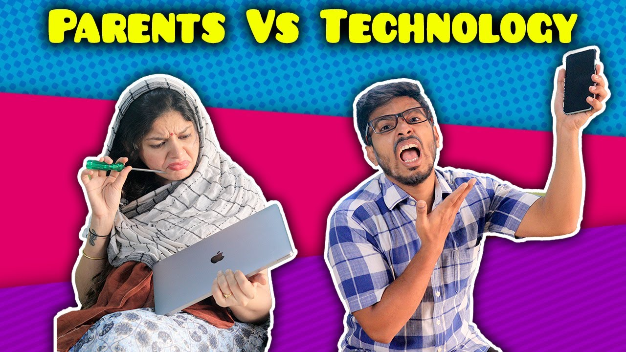 Parents Vs Technology | Funny Video | 4 Heads