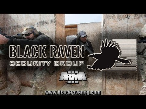 Arma 3 Gameplay | Black Raven Security Group PMC | HVT $45,000 Contract