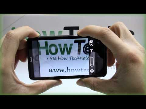 How to Use the Camera on HTC HD7