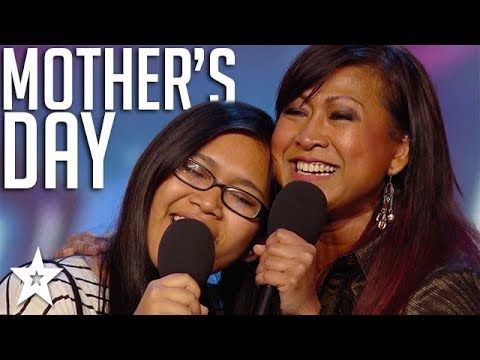 Celebrating Mother's Day on Got Talent Global