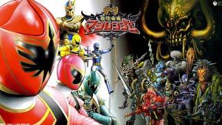 [OP/MAD] Mahou Sentai Magiranger - Mystic Force Opening Song