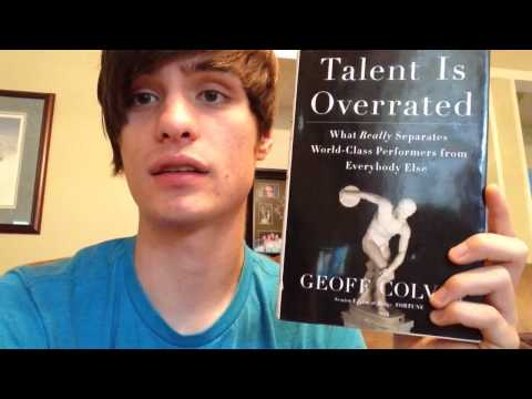Talent is Overrated (book review)