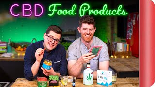 2 Chefs Review CBD Food & Drink Products!
