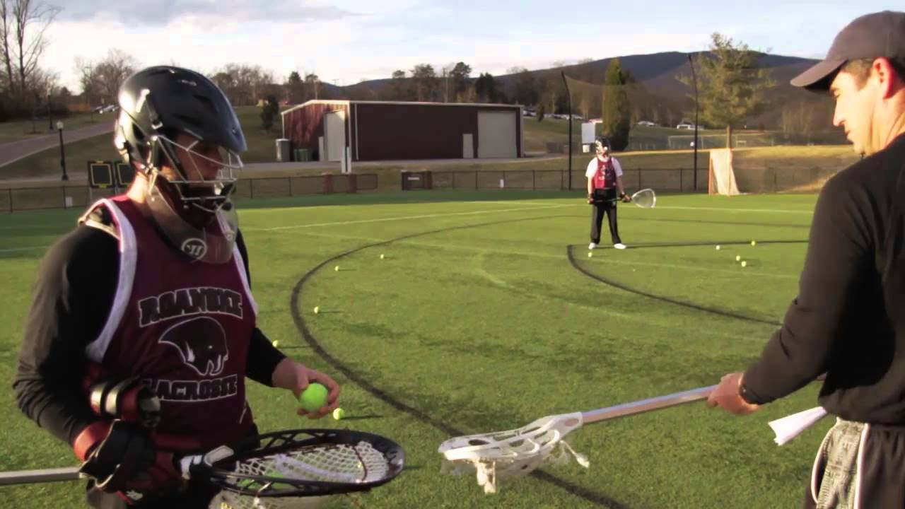 how to catch a ball in lacrosse