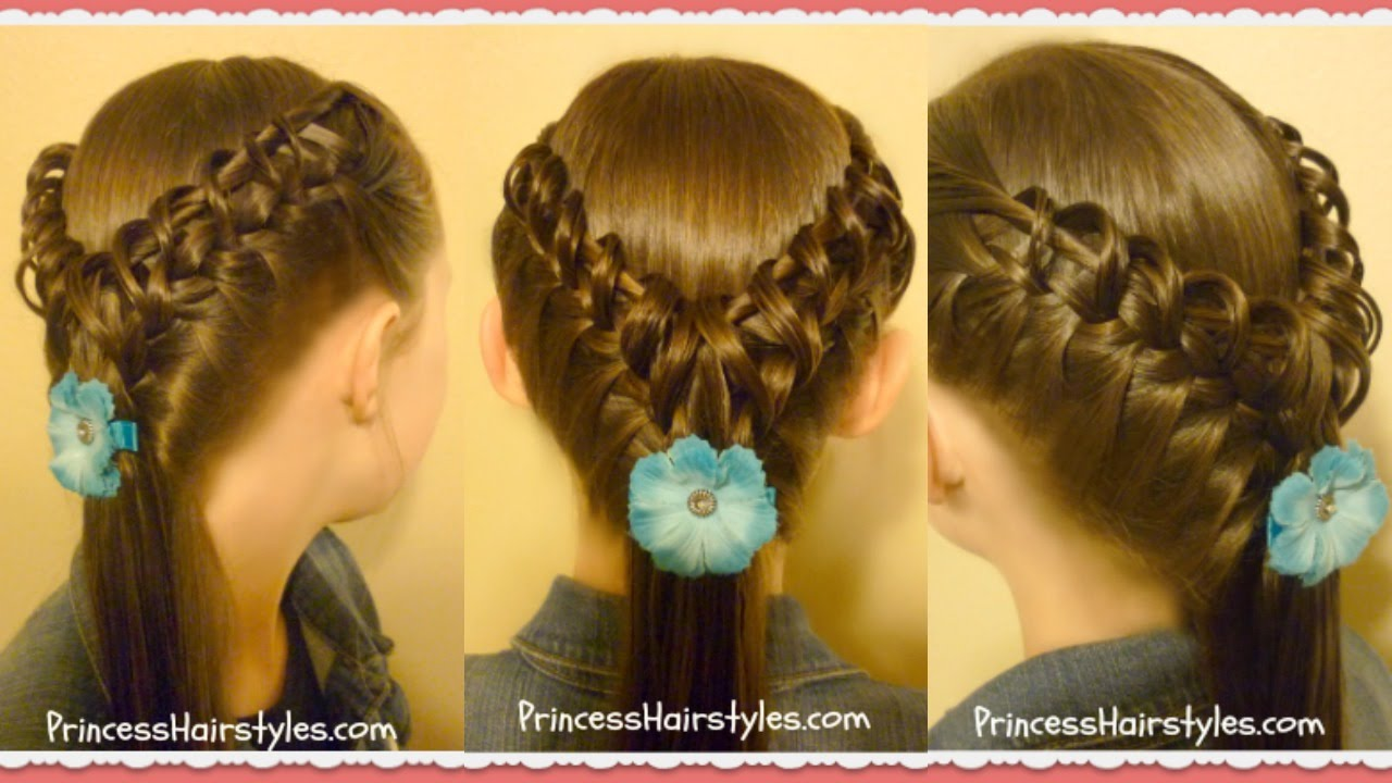 Hairstyles Braids Youtube: Hook And Ladder Braid Hairstyle, Cute Hairstyles