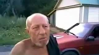 Crazy Russian old man