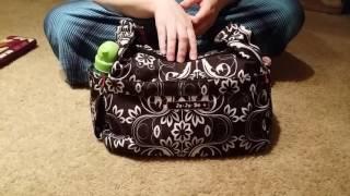 Jujube Hobobe packing video: cloth diapers (minimalist bag)