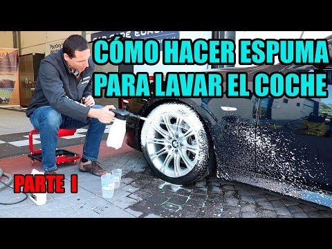 Cómo hacer espuma para lavar el coche - Parte 1