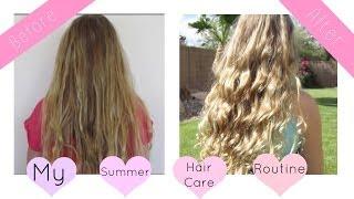 Summer Hair Care Routine | Avrey Elle Thumbnail