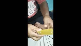 Cara Unik, Pengikat Es dengan Kawat Jari-jari Sepeda.
