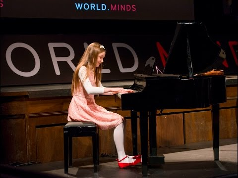 Alma Deutscher: Piano & Violin Compositions 2016 WORLDMINDS Annual Symposium