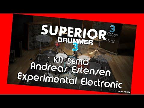 SUPERIOR Drummer 3 - Demo Andreas Estensen -Axperomental Electronic / Preset overview TOONTRACK