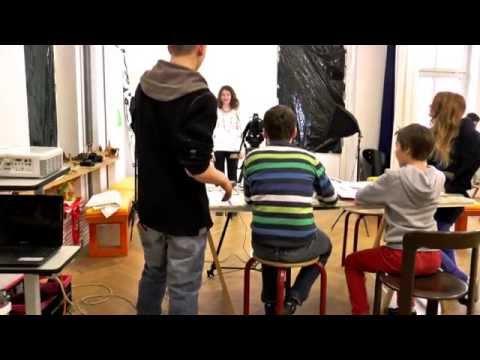 Kleider machen Leute. Kunstprojekt. Making of - YouTube