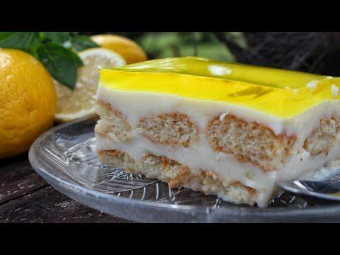 Αποτέλεσμα εικόνας για Εύκολο & Δροσερό γλυκό Ψυγείου - The best Lemon Pudding Ever