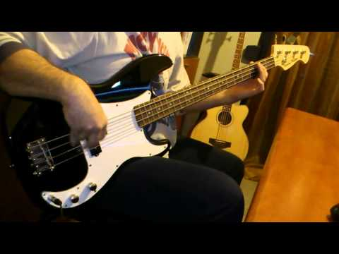 Iron Maiden The Trooper backing track Bass cover with Harley Benton PB-20 BK
