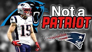 Former Patriots WR Chris Hogan signs with the Carolina Panthers