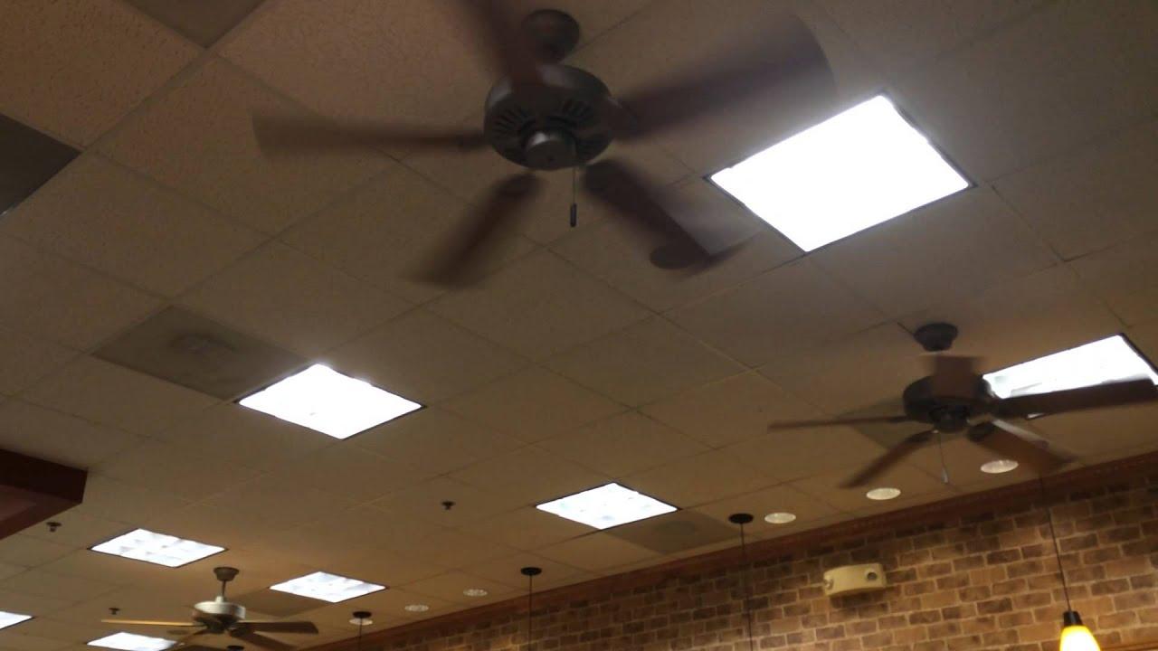 3 Regency Ceiling fans at Subway (During April Break)