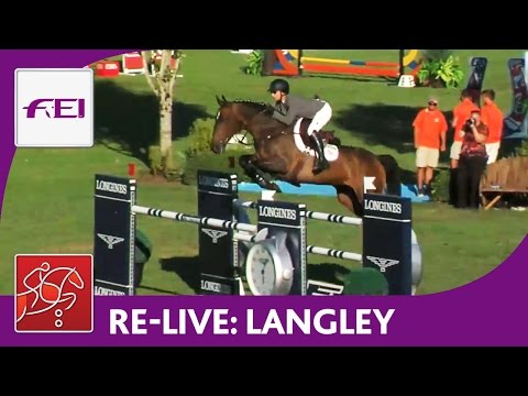 Re-Live | Longines FEI World Cup™ Jumping 2016/17 NAL | Langley | Maui Jim Welcome