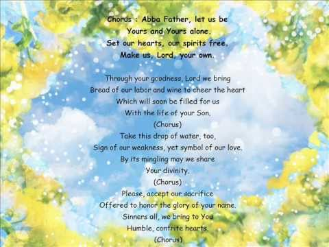 Abba Father Let Us Be