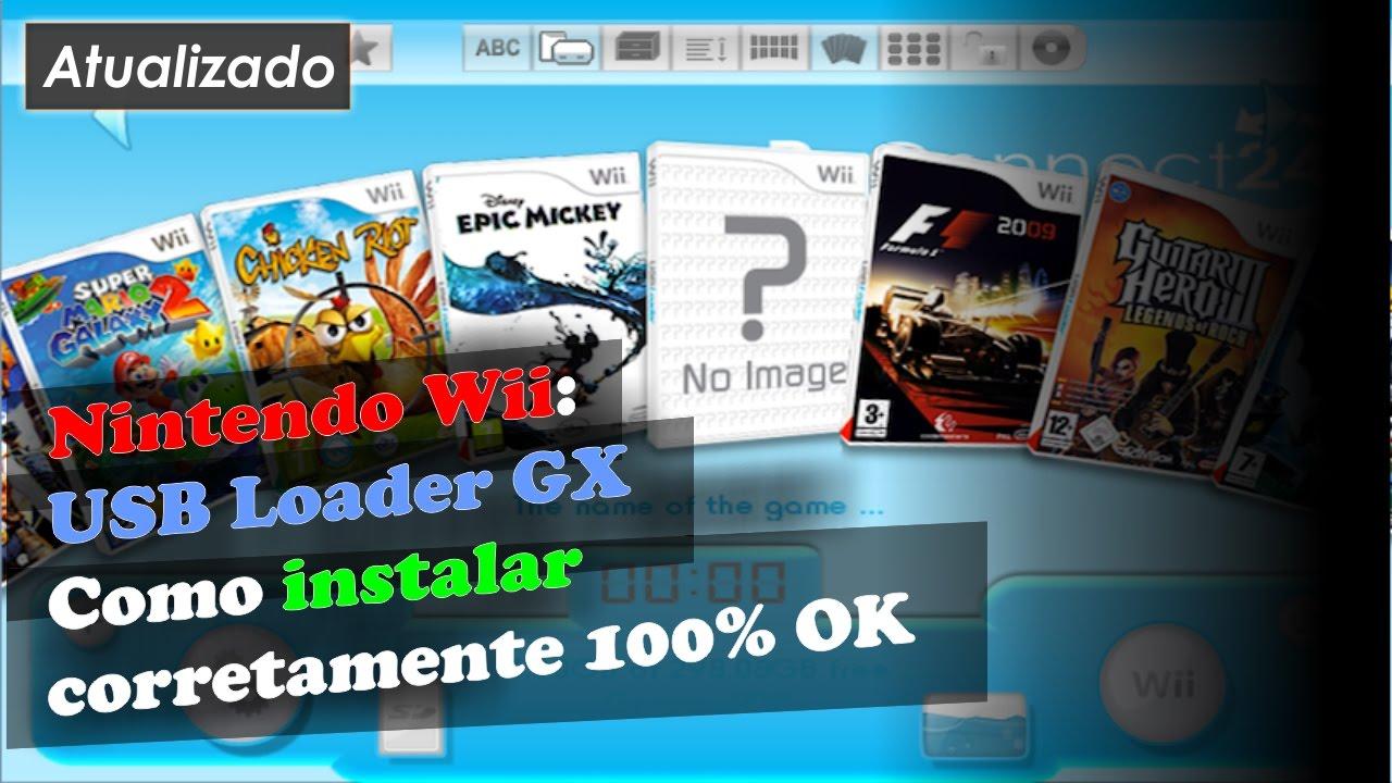 Nintendo Wii Usb Loader Gx Como Instalar Corretamente 100