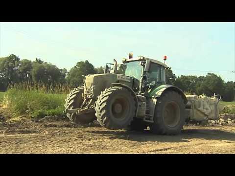 TraktorTV Folge 34 - Straenbau mit Fendt Vario 936 und 828