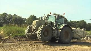 TraktorTV Folge 34 - Straßenbau mit Fendt Vario 936 und 828